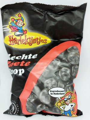 Harlekijntjes Licorice, 550gr, Holland, Nederländerna